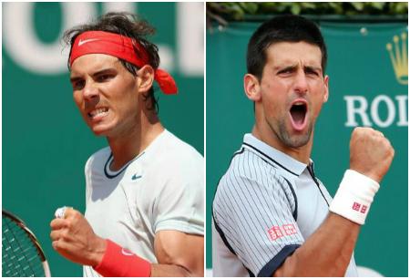 Novak Djokovic Rafael Nadal Monte-Carlo 2013 Finalists