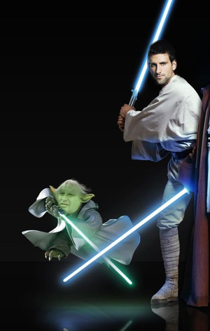 Novak Djokovic Star Wars