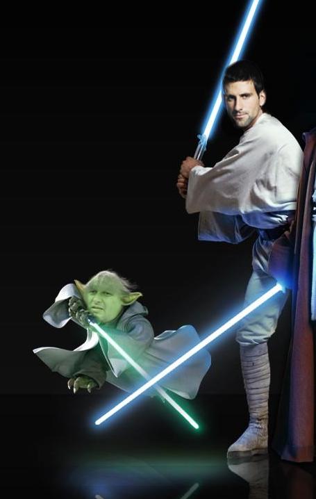 Novak Djokovic Star Wars