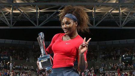 Serena Williams Brisbane 2013 Winner