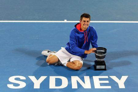 Bernard Tomic Sydney 2013 Winner