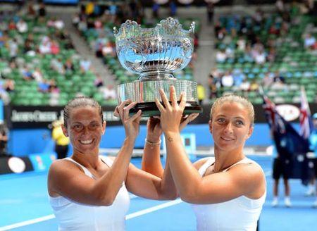 Roberta Vinci Sara Errani Australian Open 2013 Doubles Winners 1