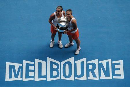 Roberta Vinci Sara Errani Australian Open 2013 Doubles Winners 2