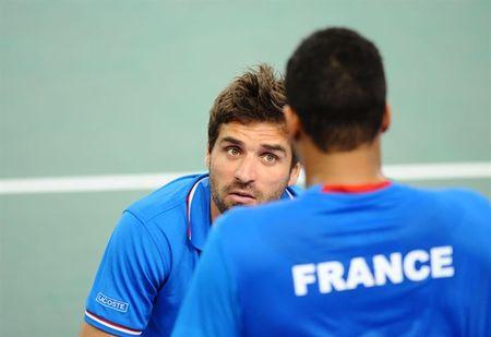 Arnaud Clement Davis Cup 2013 1st Round
