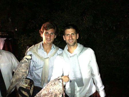 Novak & Marco Dubai 2013