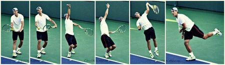 Rafael Nadal Indian Wells 2013 Serve Motion - Collage - Copy