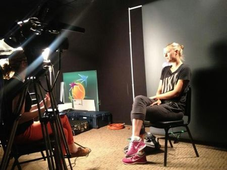Maria Sharapova Indian Wells 2013 Quarterfinal Win Interview