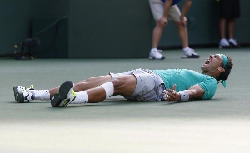Rafael Nadal Indian Wells 2013 Winner 6