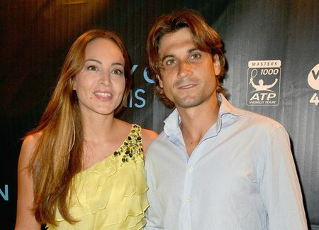 David Ferrer Miami 2013 Party with Marta Tornel