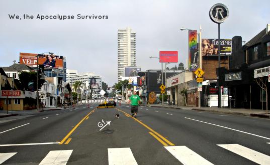 Chux & Gf on Sunset Marathon 2013 - Copy