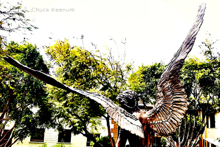 Angel Wings in WeHo - Lens Angeles