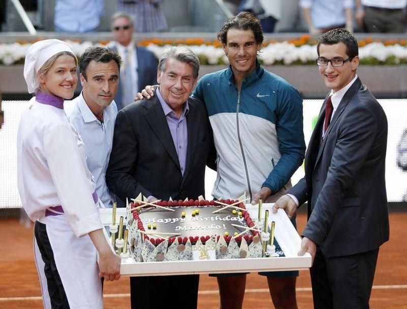 Rafael Nadal Madrid 2013 Manolo Birthday
