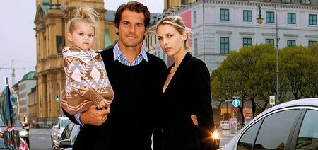 Tommy Haas Munich 2013 Player Party w Family