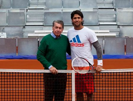 Fernando Verdasco & Manolo Santana Madrid 2013