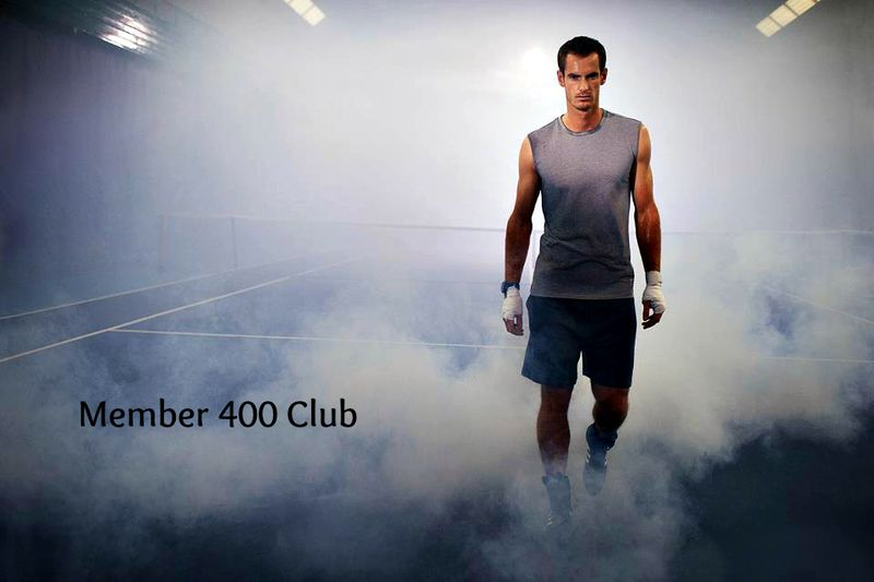 Andy Murray Walks Thru Court Smoke