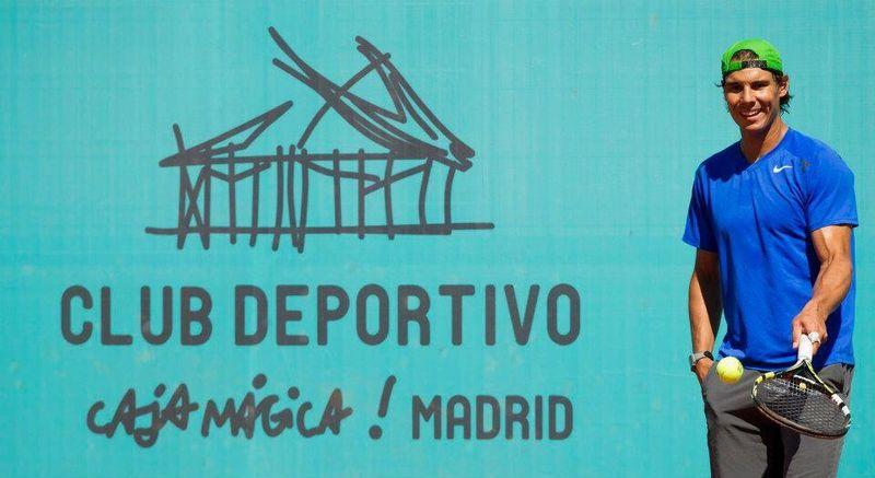 Rafael Nadal Madrid 2013 Practice