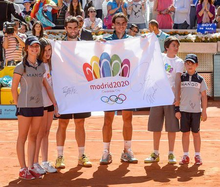 Rafael Nadal Madrid 2013 Olympic Flag
