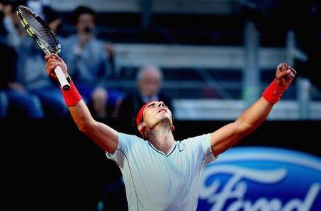 Rafael Nadal Rome 2013 Quarterfinal Win