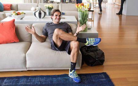 Roger Federer Fly Swatter Behind the Scenes 1