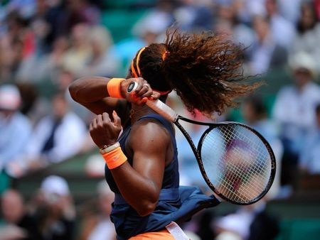 Serena Williams French Open 2013 4th Round Win