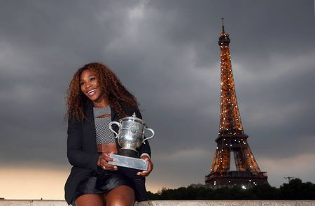 Serena Williams French Open 2013 Champion 4