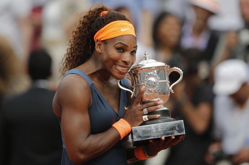 Serena Williams French Open 2013 Champion 1