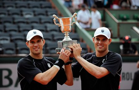 Bryan Brothers French Open 2013 Mens Doubles Champions