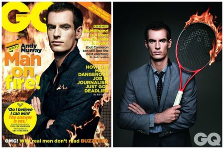 Andy Murray June 2013 GQ Cover Boy