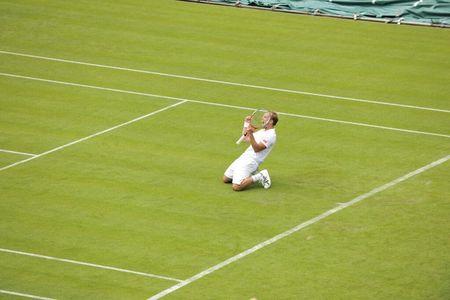 Steve Darcis Wimbledon 2013 1st Round Win