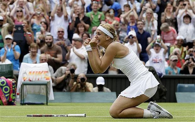 Sabine Lisicki Wimbledon 2013 4th Round Win