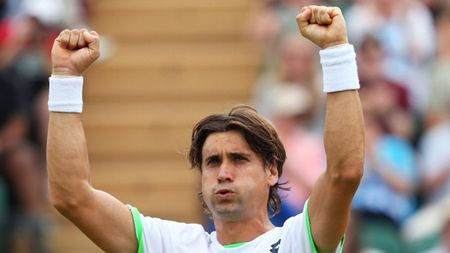 David Ferrer Wimbledon 2013 4th Round Win