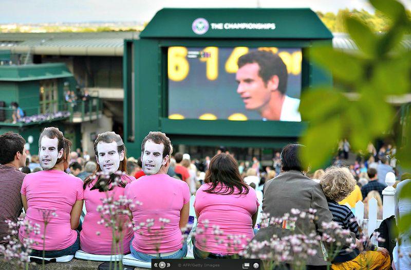 Andy Murray Wimbledon 2013 Quarterfinal Win