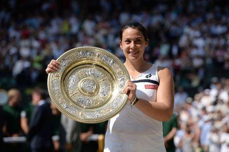 Marion Bartoli Wimbledon 2013 Champion