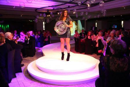 Marion Bartoli Wimbledon 2013 Champions Dinner 2