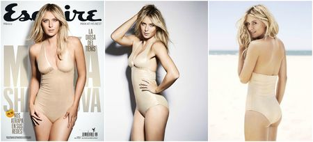 Maria Sharapova Esquire Mexico Cover Collage