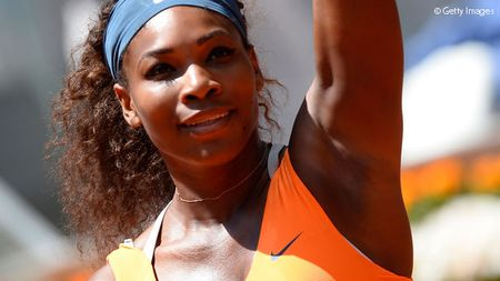 Serena Williams Madrid 2013 Quarterfinal Win