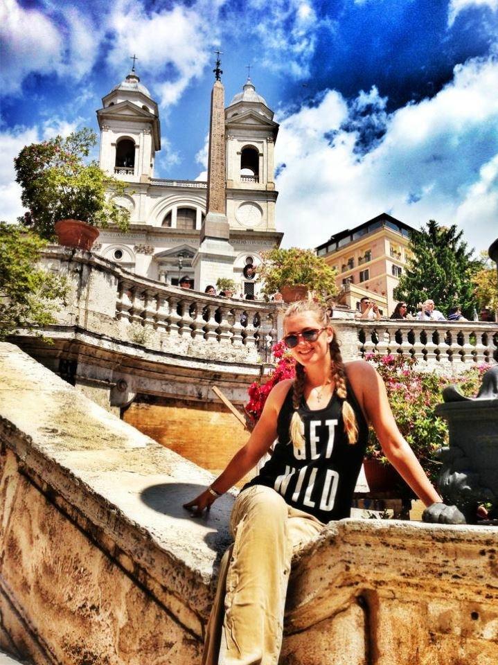 Victoria Azarenka Tours Rome