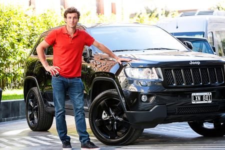 Juan Monaco With Jeep March 2013