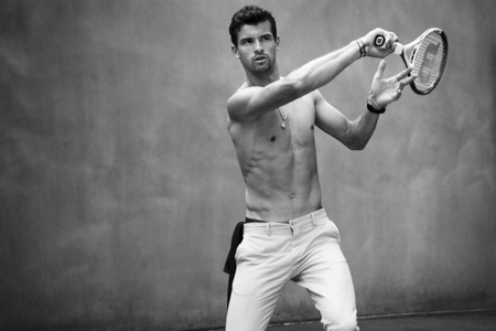 Grigor Dimitrov Shirtless Sexy Vanity Fair