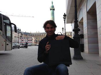 Rafael Nadal French Open 2013 Shopping