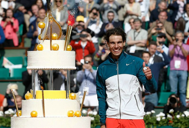 Rafael Nadal French Open 2013 4th Round Win & 27th Birthday 2