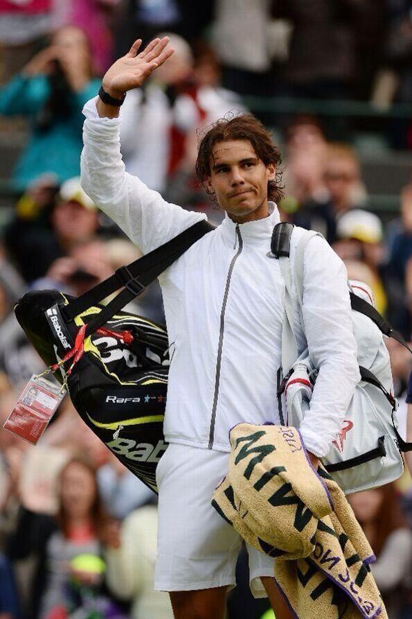 Rafael Nadal Wimbledon 2013 1st Round Loss