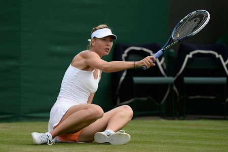 Maria Sharalpova Wimbledon 2013 2nd Round Loss