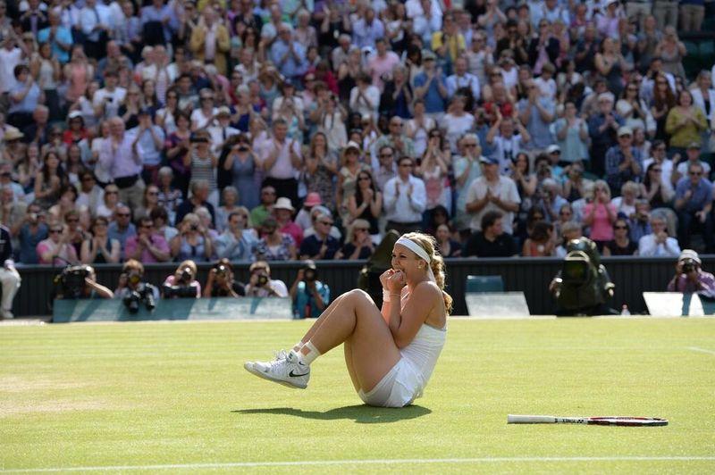Sabine Lisicki Wimbledon 2013 Semifinal Win