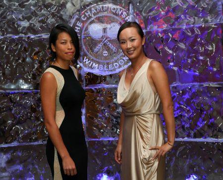 Su-Wei Hsieh & Shuai Peng Wimbledon Champions Dinner