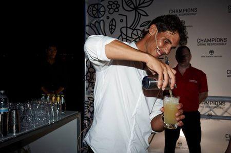 Rafael Nadal Champions Drink Responsibly Party 2