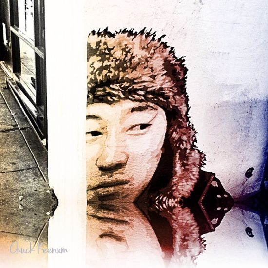 Asian PasteUp on Fairfax - Lens Angeles