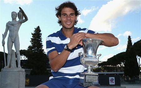 Rafael Nadal Rome 2013 Winner 3