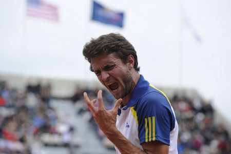 Gilles Simon French Open 1st Round Win