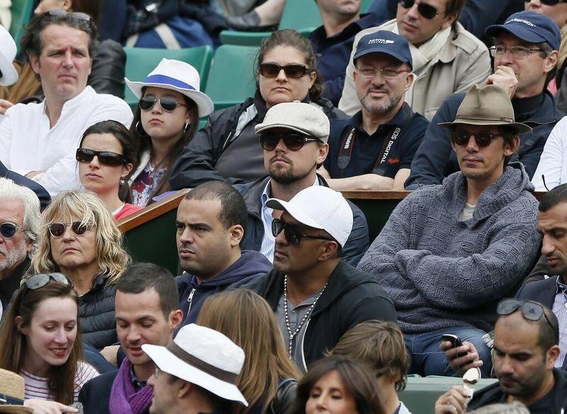 Leonardo DiCaprio French Open 2013